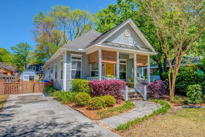 Charleston Single Family Home For Sale: 207 Hickory Street