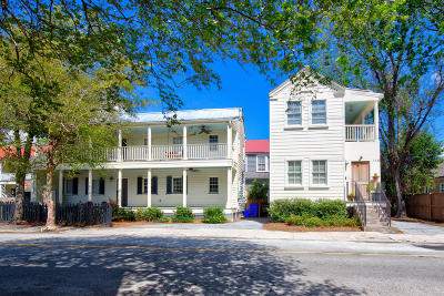 Charleston Single Family Home For Sale: 64 Ashe Street