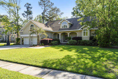 North Charleston Single Family Home For Sale: 8855 E Fairway Woods Drive