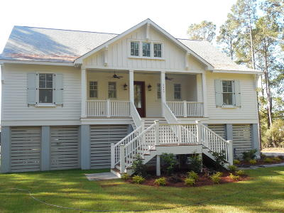 Johns Island Single Family Home For Sale: 5440 Chisolm Road