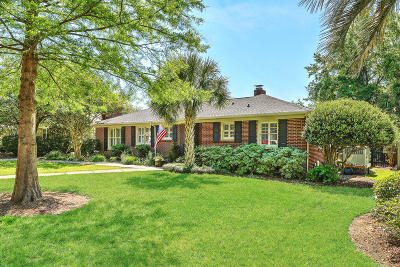 Charleston Single Family Home For Sale: 122 Chadwick Drive
