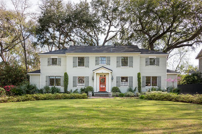 Charleston Single Family Home Contingent: 32 Jamestown Road