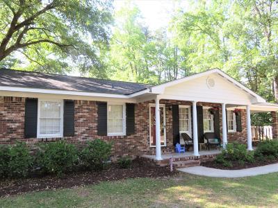 Walterboro Single Family Home Contingent: 206 Holly Road
