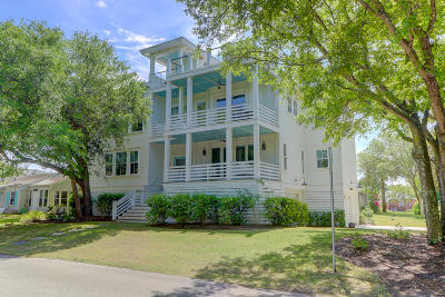 Isle Of Palms Single Family Home For Sale: 6 32nd Avenue