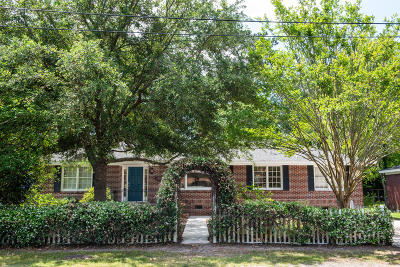Charleston Single Family Home Contingent: 1023 Shelley Road