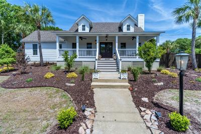 Isle Of Palms Single Family Home Contingent: 4403 Palm Boulevard