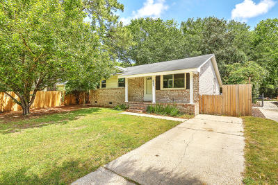 Mount Pleasant Single Family Home For Sale: 837 Armsway Street