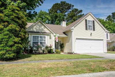 Mount Pleasant Single Family Home For Sale: 1528 Arden Court