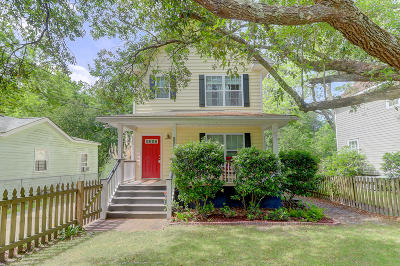Charleston Single Family Home For Sale: 1134 Davidson Avenue