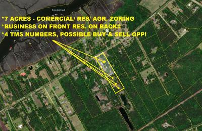 Johns Island Residential Lots & Land For Sale: 2591 Bohicket Road