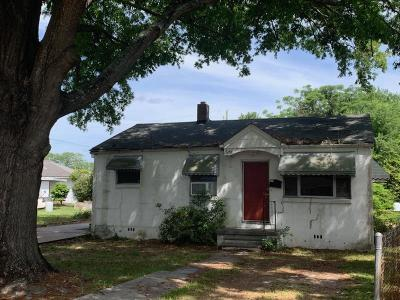 North Charleston Single Family Home For Sale: 3840 Chestnut Street