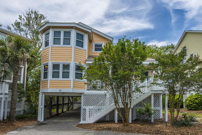 Isle Of Palms Single Family Home Contingent: 72 Fairway Dunes Lane