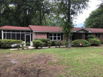 Moncks Corner Single Family Home For Sale: 1085 Overton Drive