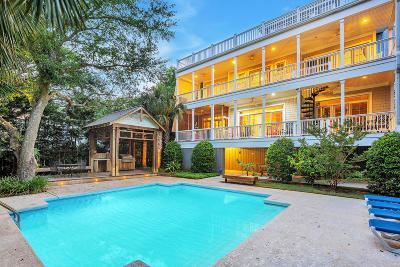Isle Of Palms SC Single Family Home For Sale: $1,695,000