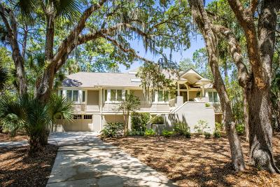 Seabrook Island Single Family Home For Sale: 3072 Marshgate Drive