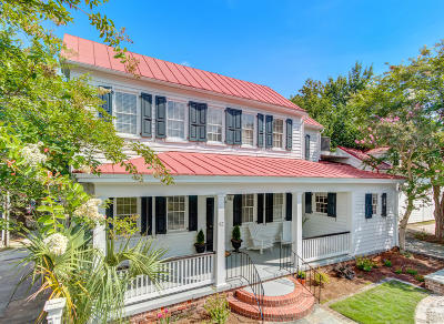 Charleston SC Single Family Home For Sale: $850,000
