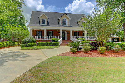 North Charleston Single Family Home For Sale: 8700 E Fairway Woods Drive