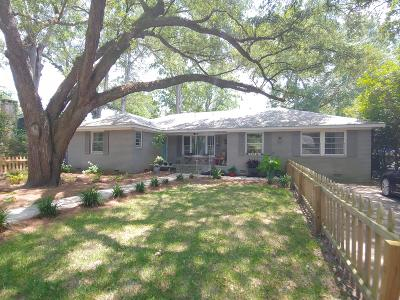 Charleston Single Family Home For Sale: 2107 Wappoo Drive