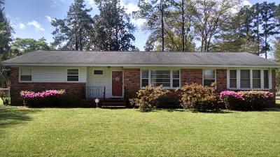 Walterboro Single Family Home For Sale: 711 Otis Road
