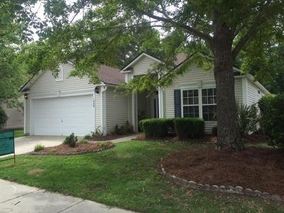 Mount Pleasant Single Family Home For Sale: 1448 Wellesley Circle