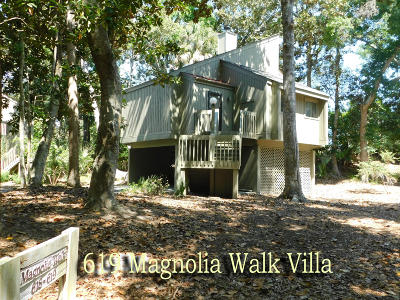 Edisto Island Single Family Home Contingent: 619 Magnolia Walk Villas