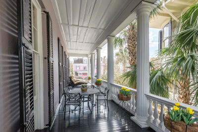 Charleston Single Family Home For Sale: 48 S South Battery