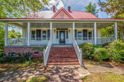 Ridgeville Single Family Home Contingent: 1691 Cypress Campground Road