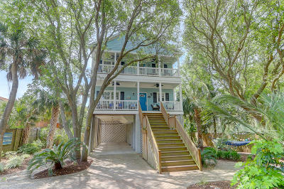 Folly Beach Attached For Sale: 119 W Cooper Avenue