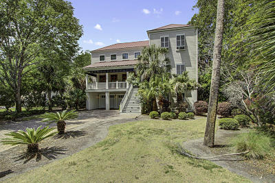 Isle Of Palms SC Single Family Home For Sale: $1,850,000