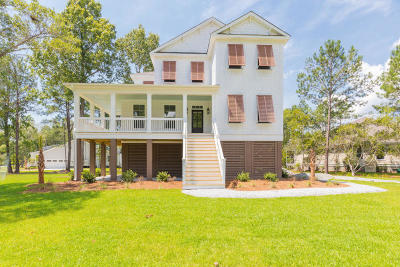 Stono Ferry, Stono Plantation Single Family Home For Sale: 5158 Forest Oak Drive