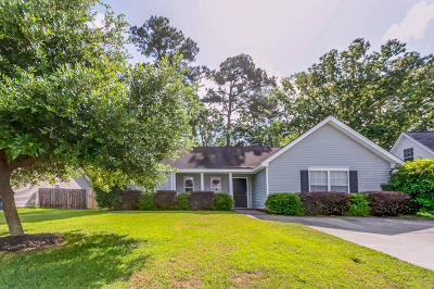 Summerville Single Family Home Contingent: 2220 Sandtuck Circle