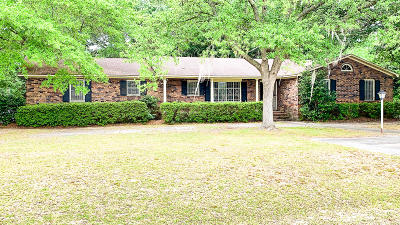 Walterboro Single Family Home For Sale: 301 Ruby Street