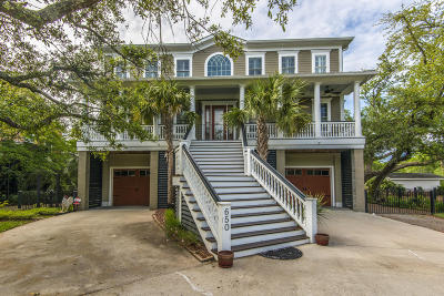 Charleston Single Family Home For Sale: 650 Cedar Point Drive