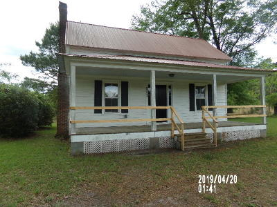 Walterboro Single Family Home Contingent: 2501 Burlington Road