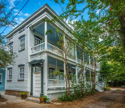 Charleston Single Family Home For Sale: 18 Pitt Street