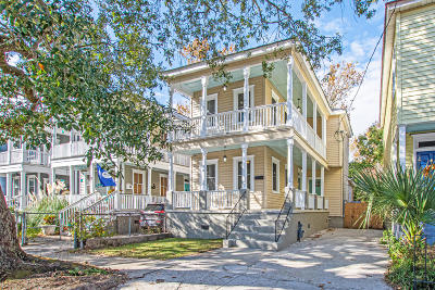 Charleston Single Family Home For Sale: 30 Moultrie Street