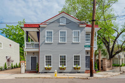 Charleston Single Family Home For Sale: 160-162 Tradd Street