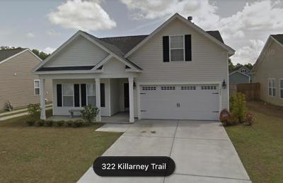 Moncks Corner Single Family Home For Sale: 323 Killarney Trail
