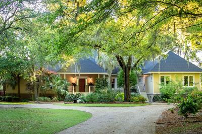 Johns Island Single Family Home For Sale: 3604 Legareville Road