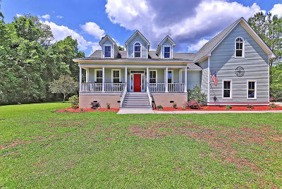 Single Family Home For Sale: 6125 Bay Pond Road