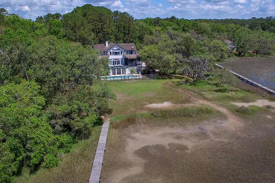 Wadmalaw Island Single Family Home For Sale: 6555 Southmount Road