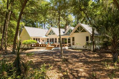 Seabrook Island Single Family Home For Sale: 2500 The Bent Twig