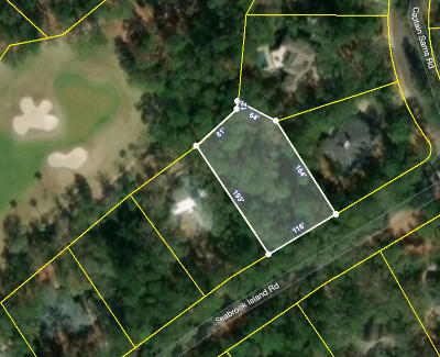 Residential Lots & Land For Sale: 3011 Seabrook Island Road