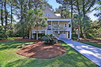 Seabrook Island Single Family Home For Sale: 3124 Seabrook Village Drive