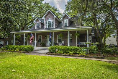 Charleston Single Family Home Contingent: 136 Ashley Hall Plantation Road