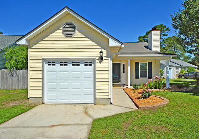 North Charleston Single Family Home For Sale: 8582 Lake Moultrie Drive