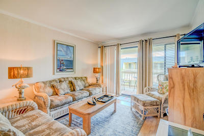 Isle Of Palms Attached For Sale: 1400 Ocean Boulevard #307 B