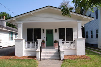 Charleston Single Family Home For Sale: 78 Cypress Street