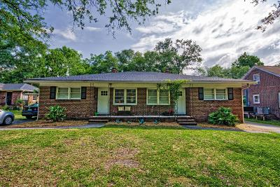 Charleston Multi Family Home For Sale: 40 Berkeley Road #A &