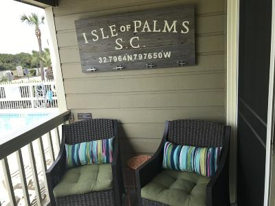 Isle Of Palms Attached For Sale: 1400 Ocean Boulevard #112